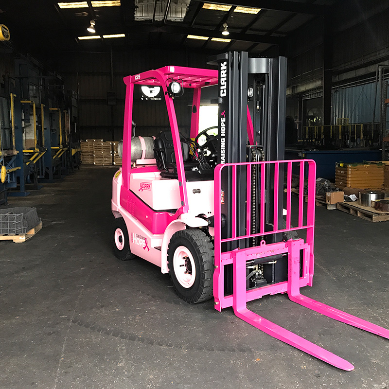Houston Heat Treat Raising Hope ForkLift