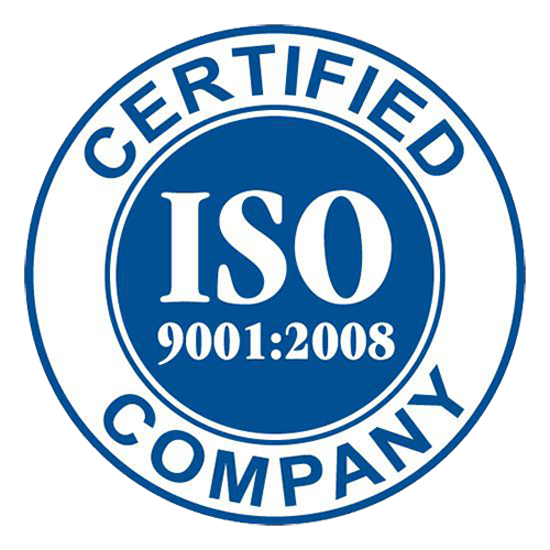 ISO Certified Co Logo Blue
