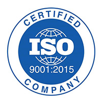 Houston Heat Treat ISO 9001:2015 Certified Logo
